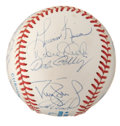 Autographs:Baseballs, 1996 New York Yankees Team Signed Baseball....