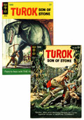 Silver Age (1956-1969):Adventure, Turok, Son of Stone #39 and 54 Group (Gold Key, 1964-66) Condition: Average VF.... (Total: 2 Comic Books)