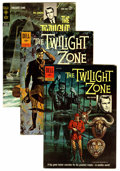 Silver Age (1956-1969):Horror, Twilight Zone Group (Dell/Gold Key, 1962) Condition: Average VF-.... (Total: 3 Comic Books)