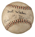 Autographs:Baseballs, Circa 1930 Rabbit Maranville Single Signed Baseball. ...