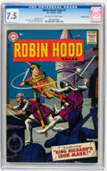Silver Age (1956-1969):Adventure, Robin Hood Tales #7 Mohawk Valley pedigree (DC, 1957) CGC VF- 7.5 Off-white to white pages....