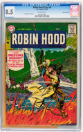 Silver Age (1956-1969):Adventure, Robin Hood Tales #8 Mohawk Valley pedigree (DC, 1957) CGC VF+ 8.5 Off-white pages....