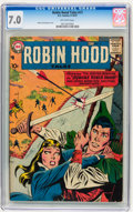 Silver Age (1956-1969):Adventure, Robin Hood Tales #11 (DC, 1957) CGC FN/VF 7.0 Off-white pages....