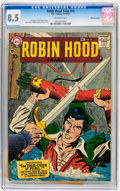 Silver Age (1956-1969):Adventure, Robin Hood Tales #12 Mohawk Valley pedigree (DC, 1957) CGC VF+ 8.5 Off-white pages....