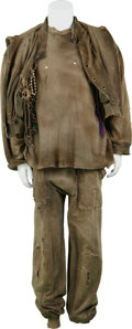 Movie/TV Memorabilia:Costumes, Alien 3 Screen-Worn Costume.... (Total: 3 Items)
