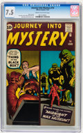 Silver Age (1956-1969):Horror, Journey Into Mystery #74 (Marvel, 1961) CGC VF- 7.5 Cream tooff-white pages....