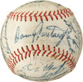 Baseball Collectibles:Balls, 1962 Pittsburgh Pirates Team Signed Baseball....