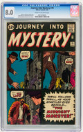 Silver Age (1956-1969):Horror, Journey Into Mystery #79 (Marvel, 1962) CGC VF 8.0 Cream tooff-white pages....