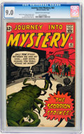 Silver Age (1956-1969):Science Fiction, Journey Into Mystery #82 (Marvel, 1962) CGC VF/NM 9.0 Cream tooff-white pages....