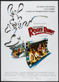 "Movie Posters:Animated, Who Framed Roger Rabbit (Warner Brothers, 1988). Italian 2 - Foglio(39.25"" X 55""). Animated.. ..."