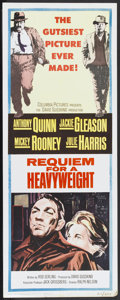 "Movie Posters:Sports, Requiem for a Heavyweight (Columbia, 1962). Insert (14"" X 36""). Sports.. ..."
