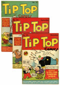 Golden Age (1938-1955):Humor, Tip Top Comics #51, 53, and 55 Lost Valley pedigree Group (United Features Syndicate, 1940).... (Total: 3 Comic Books)