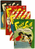 Golden Age (1938-1955):Funny Animal, Funny Stuff #3-6 Group (DC, 1945-46).... (Total: 4 Comic Books)