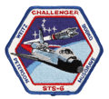 Transportation:Space Exploration, Space Shuttle Challenger (STS-6) Flown Mission PatchOriginally from the Personal Collection of Mission Commander ...