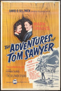 "Movie Posters:Adventure, The Adventures of Tom Sawyer (New Trends, R-1966). Poster (40"" X60""). Adventure.. ..."