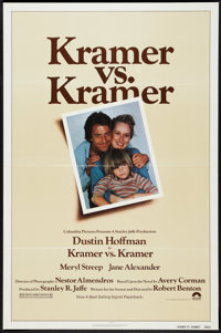 "Kramer vs. Kramer Lot (Columbia, 1979). One Sheets (2) (27"" X 41""). Drama. ... (Total: 2 Items)"