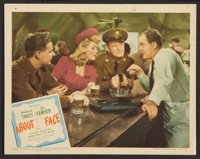 """About Face (United Artists, 1942). Lobby Cards (4) (11"""" X 14""""). Comedy. ... (Total: 4 Items)"""