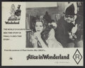 "Movie Posters:Sexploitation, Alice in Wonderland (20th Century Fox, 1977). Australian Lobby Card Set of 8 (11"" X 14""). Sexploitation.. ... (Total: 8 Items)"