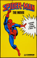 """Movie Posters:Action, Spider-Man (Cannon, 1985). Poster (29.5"""" X 46.5"""") Advance. Action.. ..."""