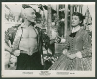 "Deborah Kerr and Yul Brynner in ""The King and I"" (20th Century Fox, R-1961). Photos (8) (8"" X 10"")..."