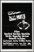 "Movie Posters:Crime, The Godfather Part II (Paramount, 1974). One Sheet (27"" X 41"").Crime.. ..."