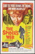 """Movie Posters:Mystery, The Spider's Web (United Artists, 1961). One Sheet (27"""" X 41"""").Mystery.. ..."""