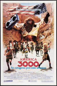 """America 3000 (Cannon, 1985). One Sheet (27"""" X 41""""). Science Fiction"""