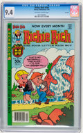 Modern Age (1980-Present):Humor, Richie Rich #204 File Copy (Harvey, 1981) CGC NM 9.4 Off-white towhite pages....