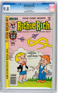 Modern Age (1980-Present):Humor, Richie Rich #208 File Copy (Harvey, 1981) CGC NM/MT 9.8 Off-whiteto white pages....