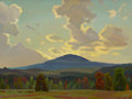 Paintings, OLIN TRAVIS (American, 1888-1975). Black Mountain, Ozarks, 1923-1924. Oil on board. 18 x 24 inches (45.7 x 61.0 cm). Sig...