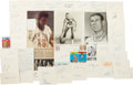 Basketball Collectibles:Others, Basketball Stars Signed Lot of 49....