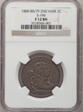 Large Cents, 1800/79 1C Fine 12 NGC. S-196. NGC Census: (1/27). PCGS Population(3/44). Mintage: 2,822,175. Numismedia Wsl. Price for pr...