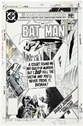 Original Comic Art:Covers, Joe Kubert Batman #328 Cover Original Art (DC, 1980)....
