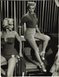 Movie/TV Memorabilia:Photos, Marilyn Monroe and Betty Grable How to Marry a Millionaire Photo by Jean Howard. ...