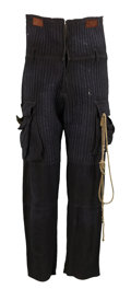 Movie/TV Memorabilia:Costumes, The Matrix - Marcus Chong Costume Pants.... (Total: 2 Items)