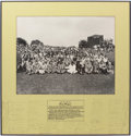 Golf Collectibles:Autographs, 1949 The Masters Signed Photograph Presented to Ben Hogan....
