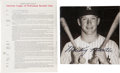 Baseball Collectibles:Others, 1969 Mickey Mantle Uniform Player's Contracts Lot of 2, Retirement Year....