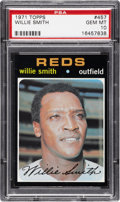 Baseball Cards:Singles (1970-Now), 1971 Topps Willie Smith #457 PSA Gem Mint 10 - Pop Report 1-of-2!...