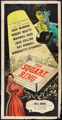 "The Square Ring (Rank, 1953). British Three Sheet (39"" X 79""). Sports"