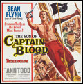 "Movie Posters:Swashbuckler, The Son of Captain Blood (Paramount, 1963). Six Sheet (81"" X 81""). Swashbuckler.. ..."