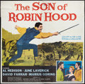 "Movie Posters:Adventure, The Son of Robin Hood (20th Century Fox, 1959). Six Sheet (81"" X81""). Adventure.. ..."