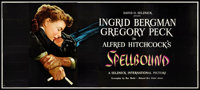 "Spellbound (United Artists, 1945). 24 Sheet (104"" X 232""). Hitchcock"