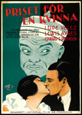 "Movie Posters:Crime, East Is West (Universal, 1930). Swedish One Sheet (27.5"" X 39.5"").Crime.. ..."