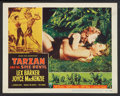 "Movie Posters:Adventure, Tarzan and the She-Devil (RKO, 1953). Lobby Card Set of 8 (11"" X14""). Adventure.. ... (Total: 8 Items)"