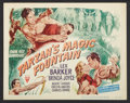 "Movie Posters:Adventure, Tarzan's Magic Fountain (RKO, 1949). Lobby Card Set of 8 (11"" X14""). Adventure.. ... (Total: 8 Item)"