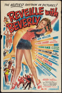 "Reveille with Beverly (Columbia, 1943). One Sheet (27"" X 41""). Musical"