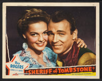 """Sheriff of Tombstone (Republic, 1941). Lobby Cards (4) (11"""" X 14""""). Western. ... (Total: 4 Items)"""