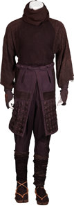 Movie/TV Memorabilia:Costumes, The Last Samurai Screen-Worn Ninja Costume....
