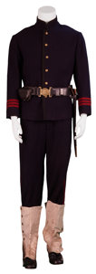 Movie/TV Memorabilia:Costumes, The Last Samurai Screen-Worn Army Uniform....