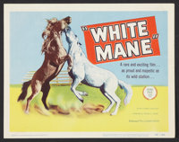 """White Mane Lot (United Artists, 1954). Title Lobby Cards (4) (11"""" X 14""""). Family. ... (Total: 4 Items)"""